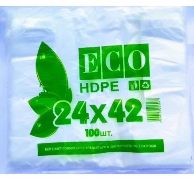 Харчові пакети 24*42 100 шт Еко