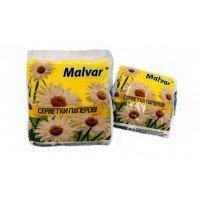 Серветкі сухі Malvar 30 шт білі