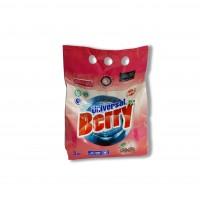 Пральний порошок 3 кг універсальний Berry Беррі з ароматом вишні