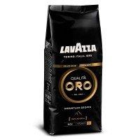 Кава натуральна зерноваQualità oro Lavazza 1кг Premium чорний