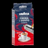 Кава натуральна  мелена Crema e Gusto  Lavazza 250 г