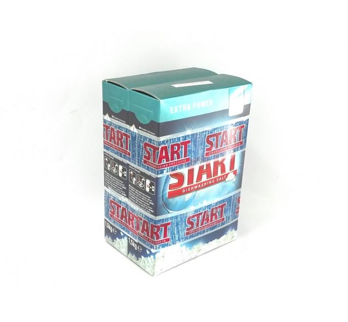 Сіль для посудомийної машини Start Старт 1,5 кг +1,5кг акція набір 2 уп