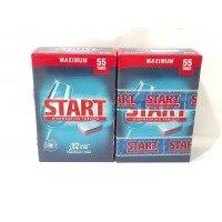 Таблетки для посудомийних машин Start Старт 55 +55 шт Максимум- 2 уп акція