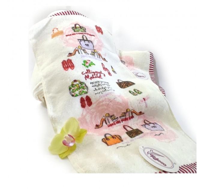 Кухонні рушники махрові 25*50  100% бавовна