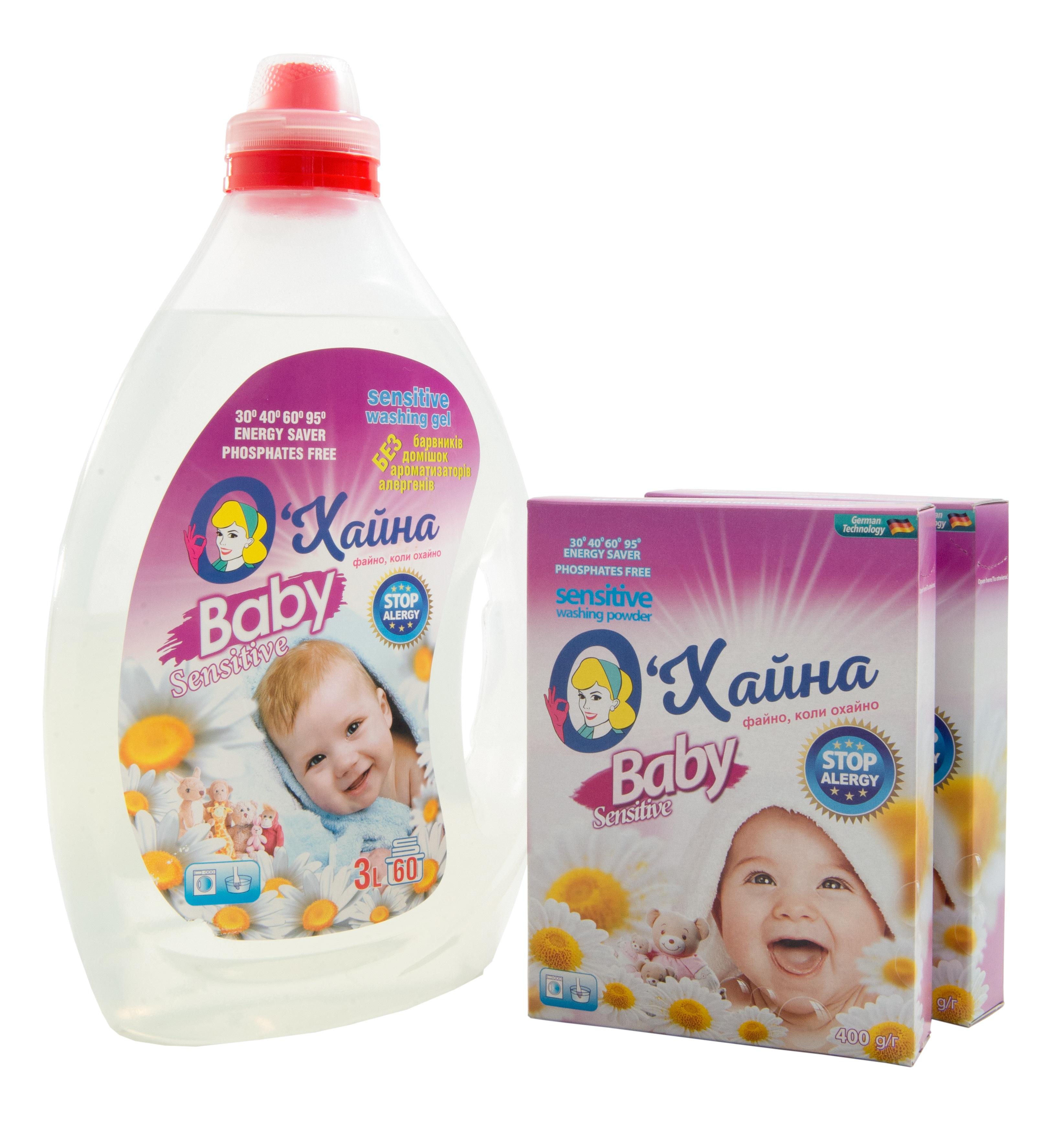 Дитячі пральні порошки оптом